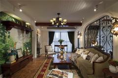 国盛园墅美式风格装修案例