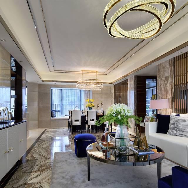 翰林府邸139㎡普通户型欧式风格装修案例