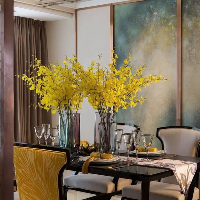 泰华阳光海花园130㎡普通户型中式风格装修案例
