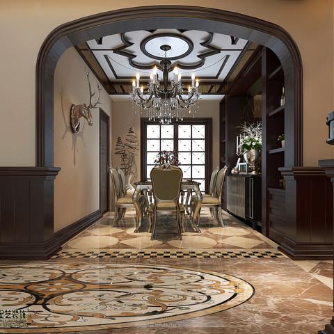 美式风格-世纪豪庭