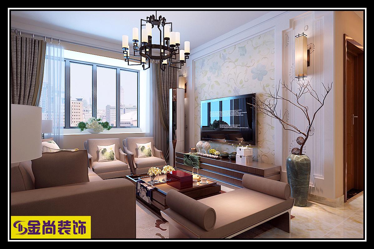 悦府·保利海德公馆Ⅲ期混搭风格装修效果图