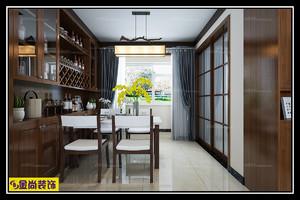 济南140㎡古典风格装修效果图