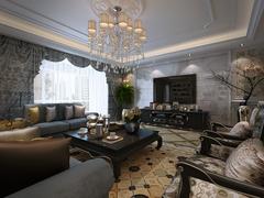 紫禁城欧式风格装修案例