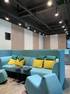 西城·西进时代中心(家具展厅)现代简约装修案例