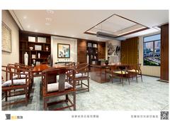 荣盛·时代国际中式风格装修案例