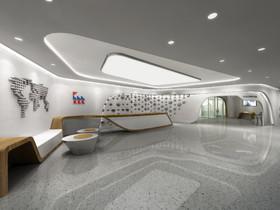 辦公北京華彬國際大廈裝修設計案例