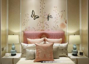 青岛500㎡中式风格装修效果图