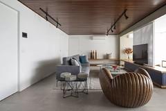 110m²现代风,把城市元素融入室内