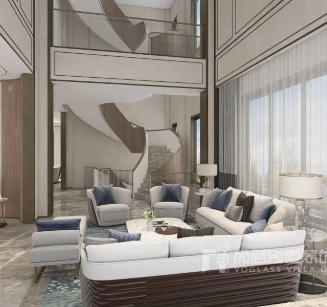 1000平米轻奢风格1000㎡别墅其他装修案例