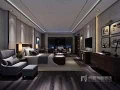 深圳某名人豪宅--新中式风格