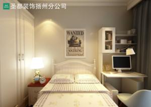 扬州127㎡美式风格装修效果图