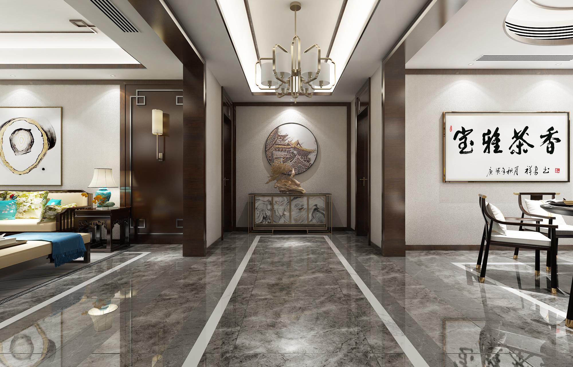 紫禁城中式风格装修效果图
