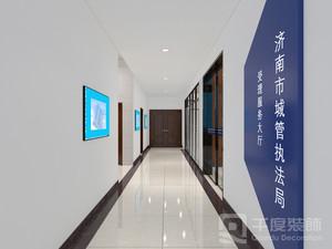 济南750㎡现代简约装修效果图