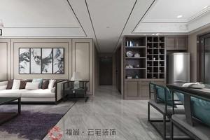 洛阳120㎡中式风格装修效果图