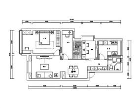 常发豪庭国际装修设计案例