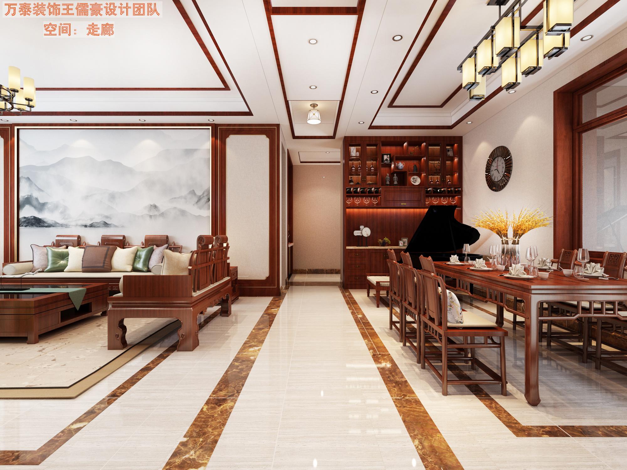 鼎秀东区中式风格装修效果图
