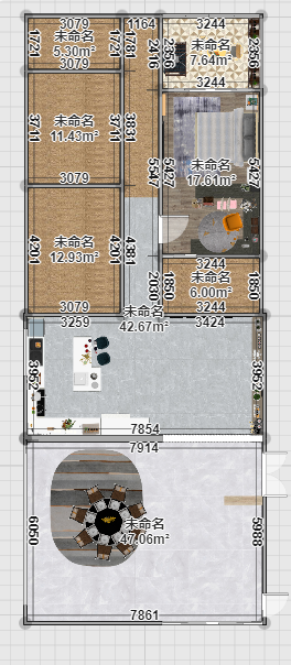 自建房装修案例
