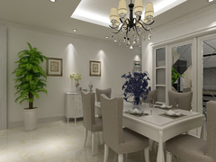 锦园新世纪  简欧风格三居室120平14.4万
