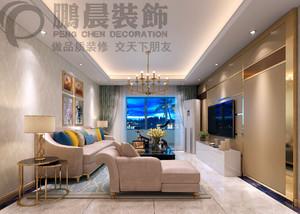 芜湖87㎡现代简约装修效果图