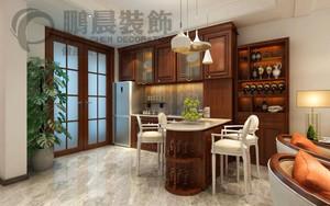 芜湖135㎡中式风格装修效果图