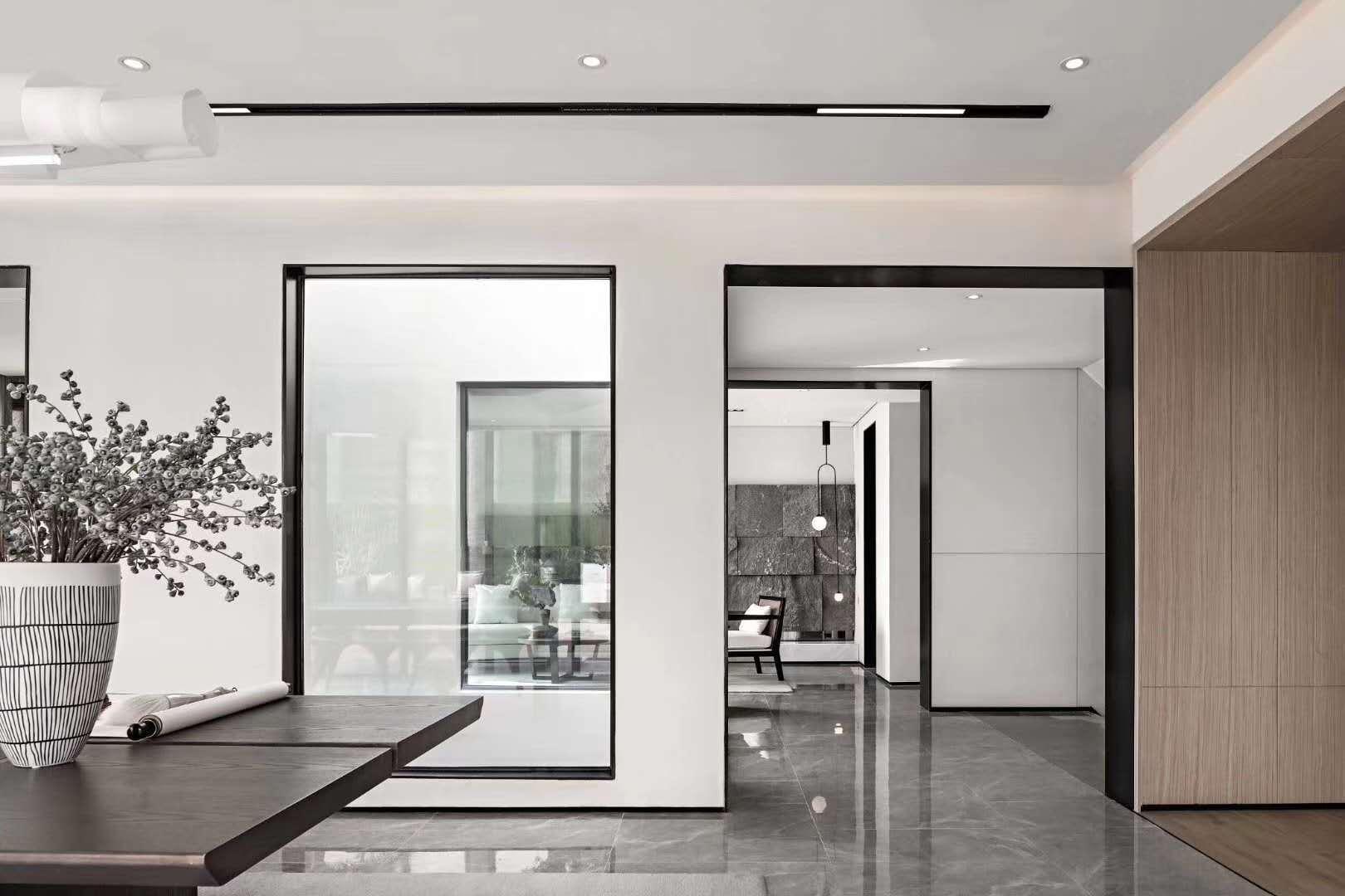 丁山自建房现代简约装修效果图