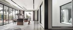 丁山自建房现代简约装修案例