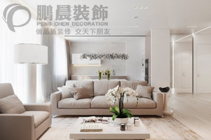 芜湖89㎡现代简约装修效果图