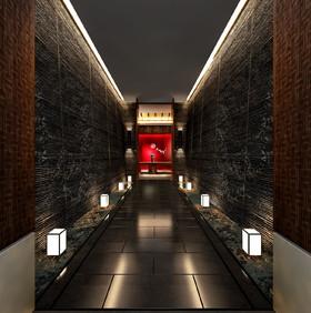 北京合生匯SPA養生會館裝修設計案例