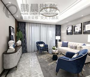芜湖107㎡现代简约装修效果图