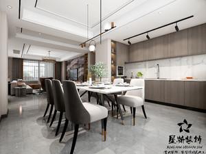 芜湖235㎡现代简约装修效果图