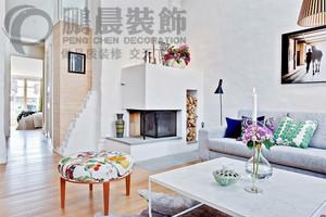 芜湖88㎡欧式风格装修效果图