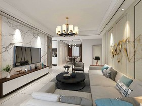 紫荆城装修设计案例