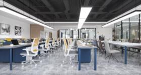 辦公樓裝修設計案例