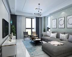 蔚蓝印象欧式风格装修案例