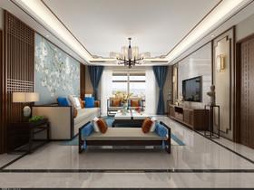 蓝天豪庭装修设计案例