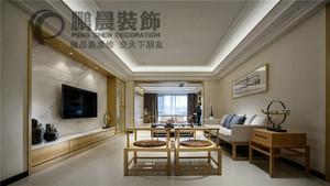 芜湖120㎡中式风格装修效果图