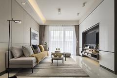 金东城世家现代简约装修案例