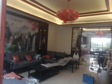 蝶湖湾别墅中式风格装修效果图