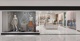 女裝品牌服裝店裝修設計案例